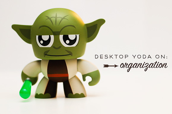 Desktop Yoda on Organization by One Little Bird