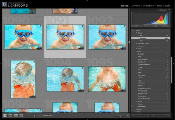 Organizing Photos in Lightroom 3 by One Little Bird