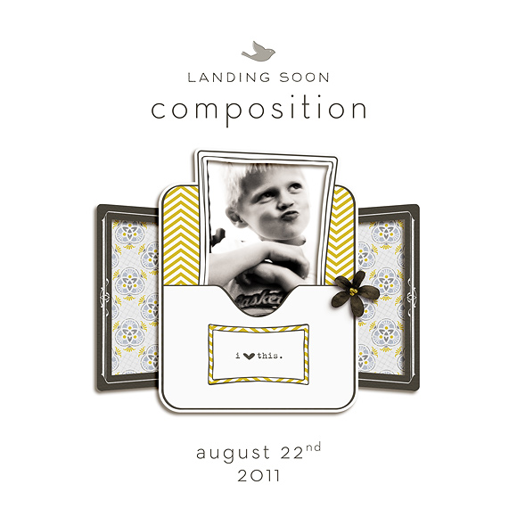 Composition | a digital kit | by One Little Bird