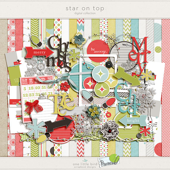 Star On Top by Amy Martin and One Little Bird