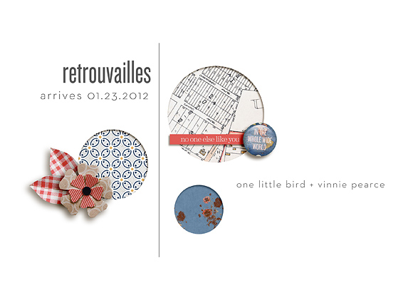 Retrouvailles, coming soon from One Little Bird & Vinnie Pearce