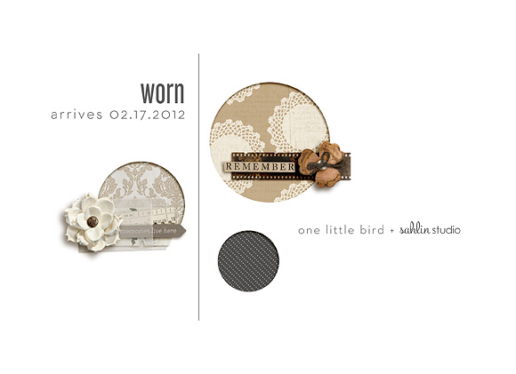 Worn by One Little Bird and Sahlin Studio