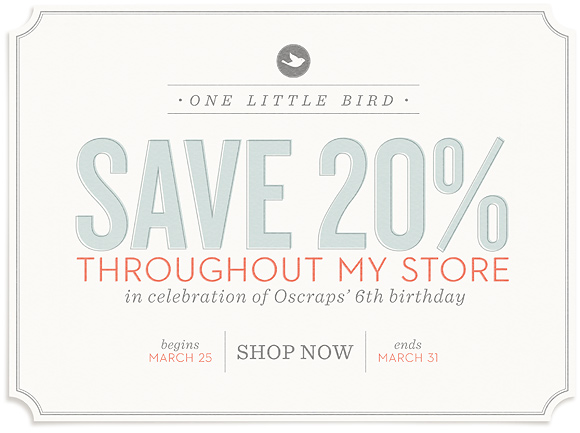 One Little Bird Storewide Sale