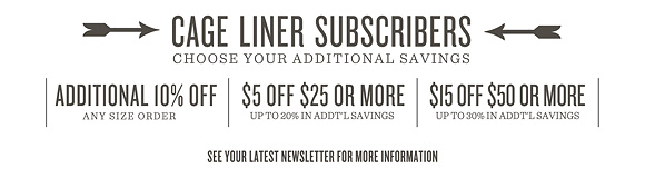 Coupons | Additional Savings | Promo Codes | One Little Bird