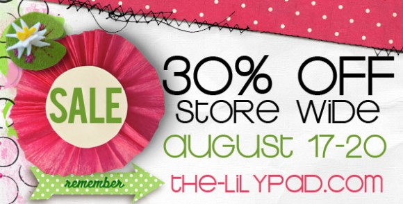 Quarterly Sale | Save 30% Storewide | The Lilypad