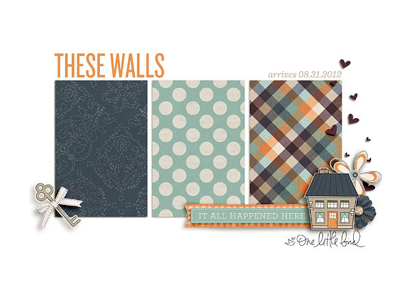 These Walls | Arrives 8/31/2012 | One Little Bird