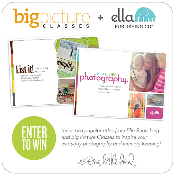 One Little Bird Giveaway | Big Picture Classes & Ella Publishing