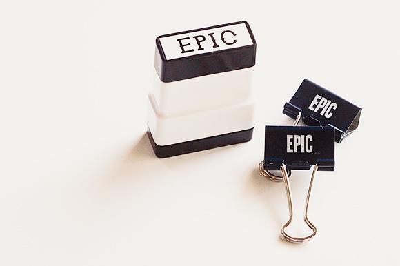 Epic Office Supplies | One Little Bird