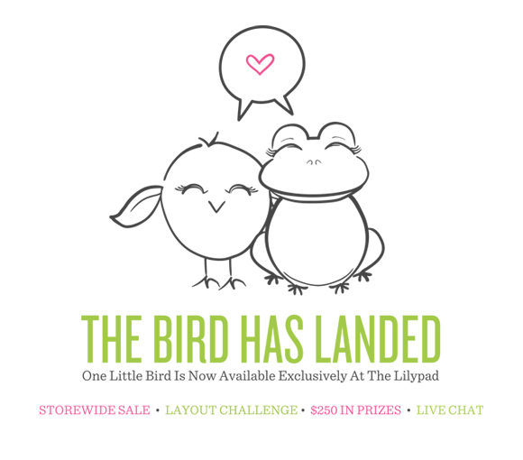 One Little Bird   Digital Scrapbooking Products   Exclusively At The Lilypad