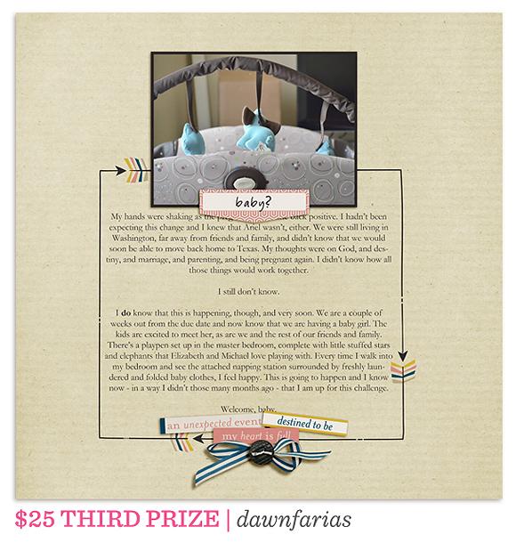 One Little Bird Journaling Challenge Winner