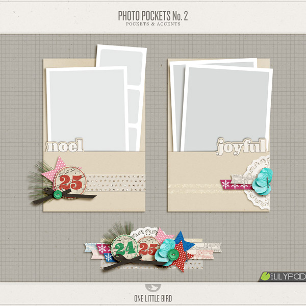 Photo Pockets No. 2 | One Little Bird