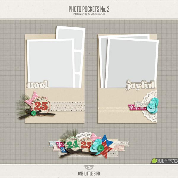 Photo Pockets No. 2 | One Little Bird