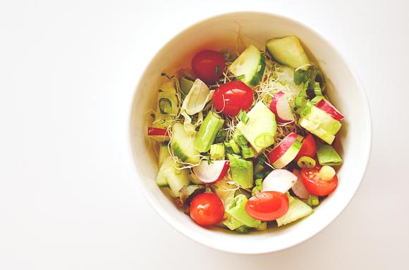 Mason Jar Salads | One Little Bird