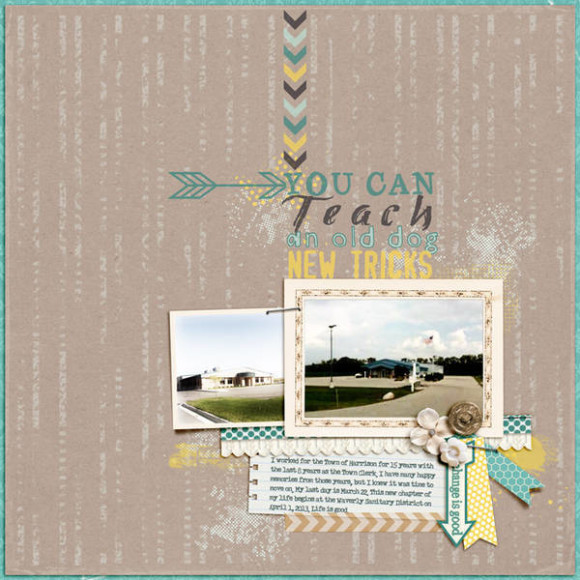 New Growth Challenge Winner (by Penny) | Digital Scrapbooking