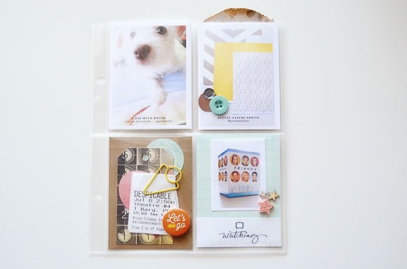 Project Life Spread by Peppermint Granberg | One Little Bird