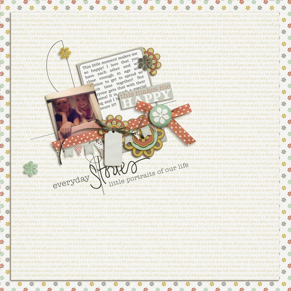 Layout by Crystal using Narrative | Digital Scrapbooking  | One Little Bird