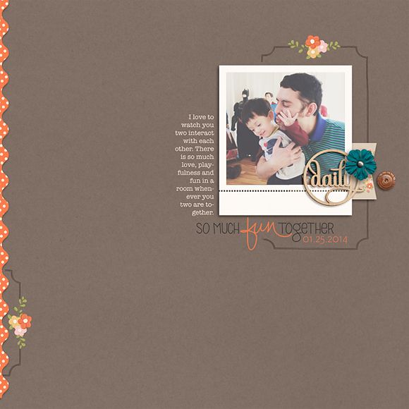 layout by RaquelS | One Little Bird