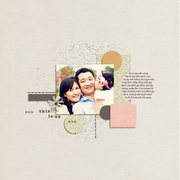 Layout by wtt2014 | One Little Bird