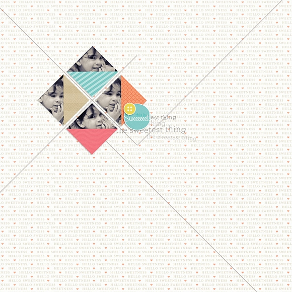 Layout by Soco using Sweetness | One Little Bird