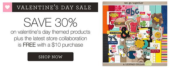 Valentine's Day Sale | The Lilypad | Feb 14-16, 2014