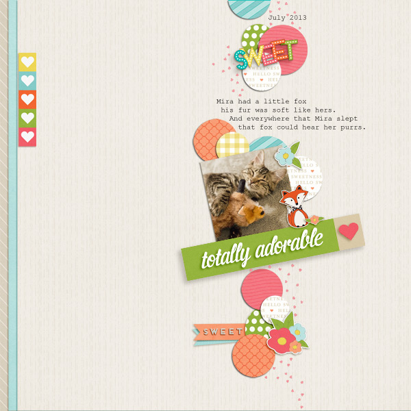 Totally Adorable by Bestsides | February Featured Product Winner | One Little Bird