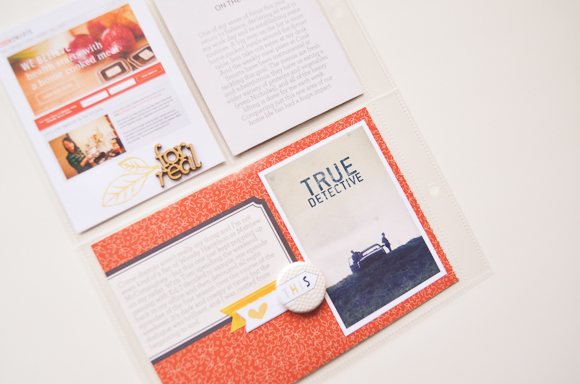 Project Life | March 2014 | One Little Bird