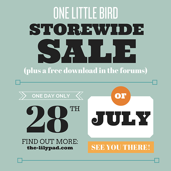 One Little Bird Flash Sale | July 28 ONLY