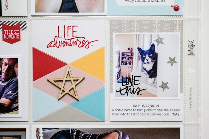 Project Life Spread by Christine Newman | One Little Bird