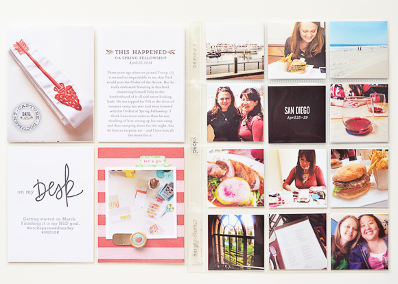 Project Life | April 2014 | One Little Bird