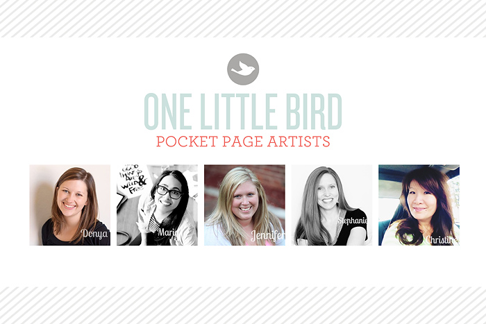 Pocket Page Artists | One Little Bird