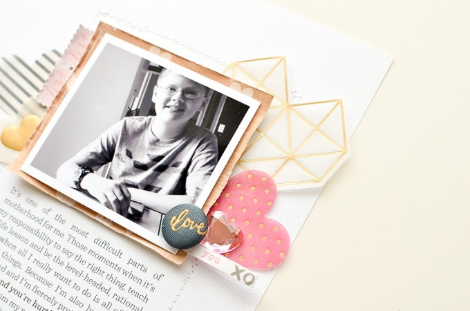 Layout by Peppermint Granberg | One Little Bird