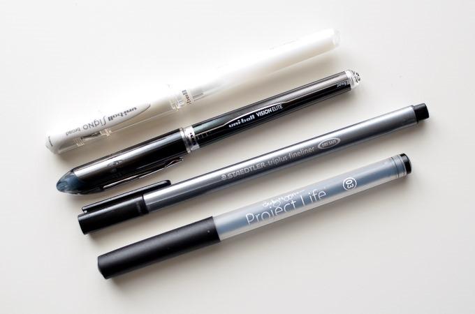 Favorite Pens | One Little Bird