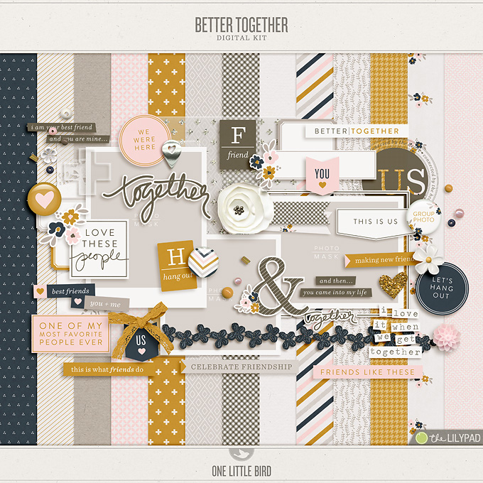 Better Together | Digital Kit | One Little Bird