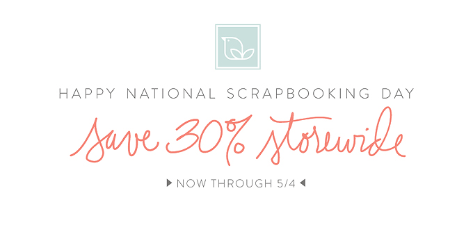 NSD Storewide Sale Ends 5/4/2015 | One Little Bird