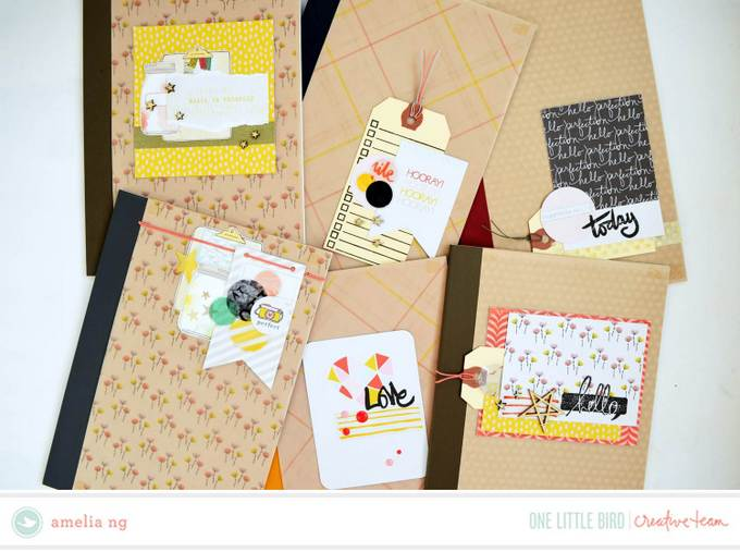 Altered Notebooks by Amelia Ng | One Little Bird