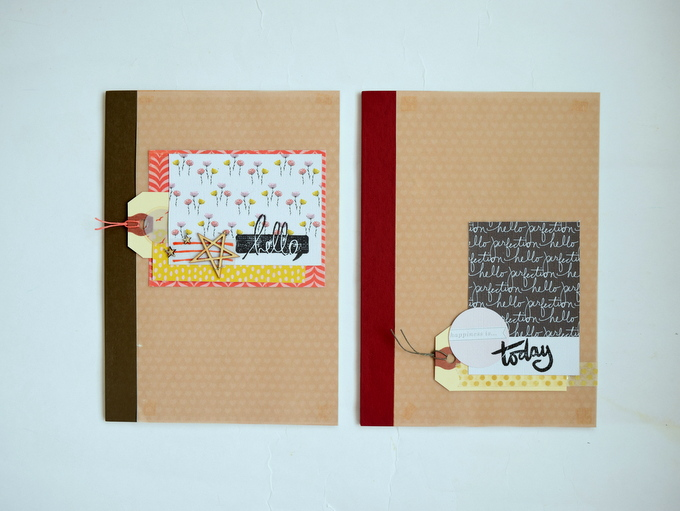 Altered Notebooks by Amelia Ng   One Little Bird
