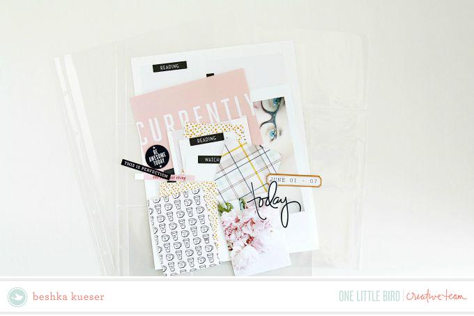 Project Life by Beshka Kueser | One Little Bird