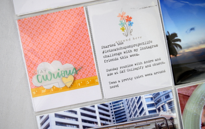 Project Life by Amelia Ng | One Little Bird
