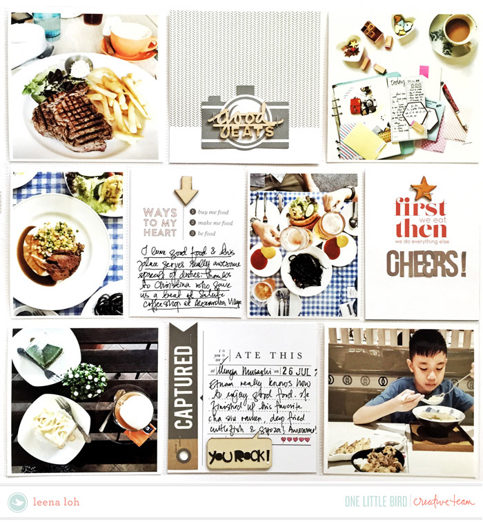 Creative Team Inspiration | Nosh by One Little Bird