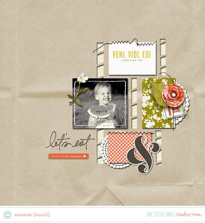 Creative Team Inspiration   Nosh by One Little Bird