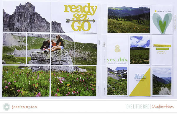 Creative Team Inspiration | Ready Set Go by One Little Bird