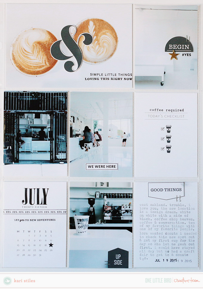 Creative Team Inspiration | One Little Bird