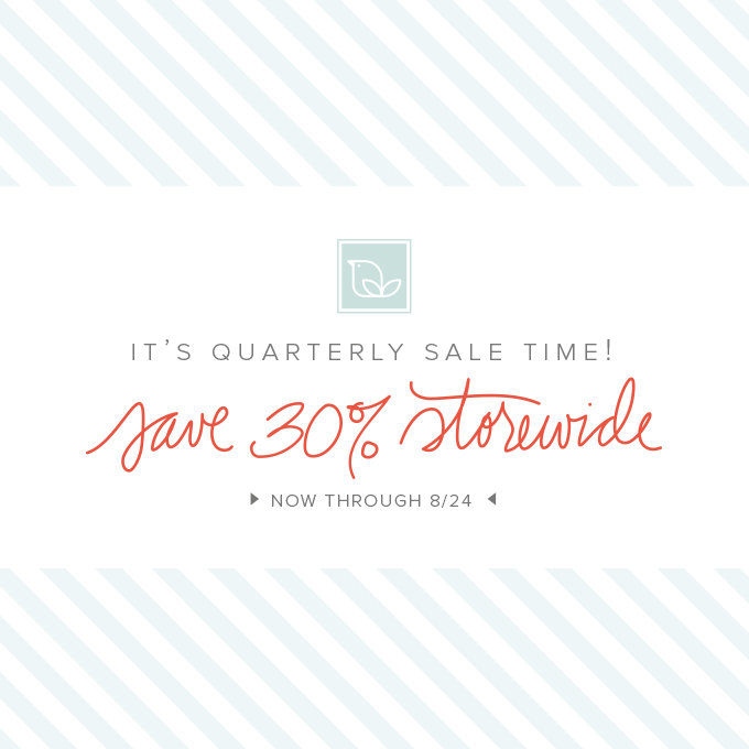 One Little Bird | Quarterly Sale
