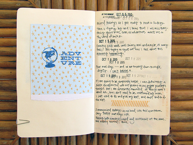 Travel Scrapbooking with Amelia Ng   One Little Bird