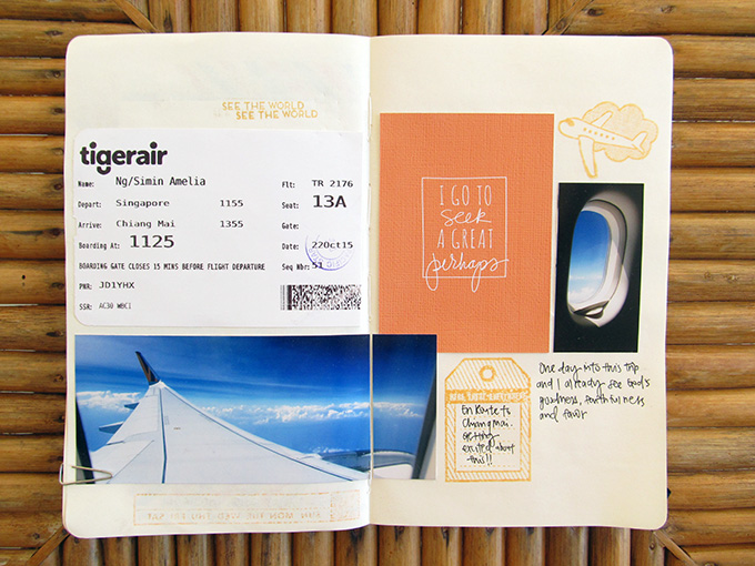 Travel Scrapbooking with Amelia Ng | One Little Bird