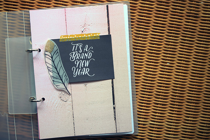 Planner Project by Amelia Ng | One Little Bird