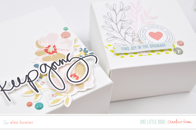 Hybrid Gift Boxes by Alex Hunter | One Little Bird