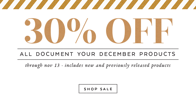 Document Your December Sale | One Little Bird