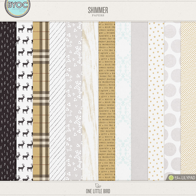 Shimmer Papers | One Little Bird
