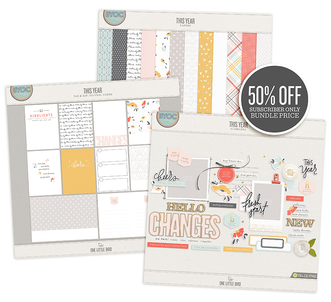 This Year Subscriber Bundle | One Little Bird